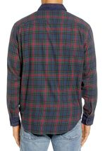 Levi's Men's Classic Barstow Western Slim Fit Plaid Button-Up Casual Dress Shirt image 4