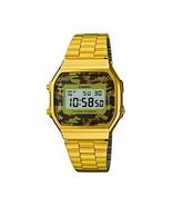 Casio Collection A168WEGC-5E Unisex Multicolor Watch - $54.45