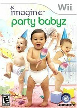 Nintendo Wii Imagine Party Babyz game Rated E - $4.95