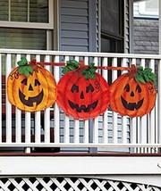 1 X Halloween Pumpkin Bunting - €17,90 EUR