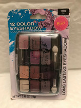 L.A. Colors Eye Shadow Bold Chic 10032 Palette, New Makeup, 12 Colors - $10.50