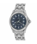 Mint Omega Seamaster 120 Midsize 36mm Stainless Steel Blue Quartz Watch ... - $1,393.31