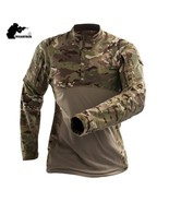Military Camouflage  T Shirt Long Sleeve - $40.99