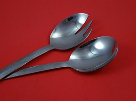 "Cambridge by Gorham Sterling Silver Salad Serving Set 2pc Modern Custom 10 1/2"" - $149.00"