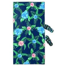 Flowers compact Travel beach towel  Swimming Camping Bath outdoors towels - $27.46