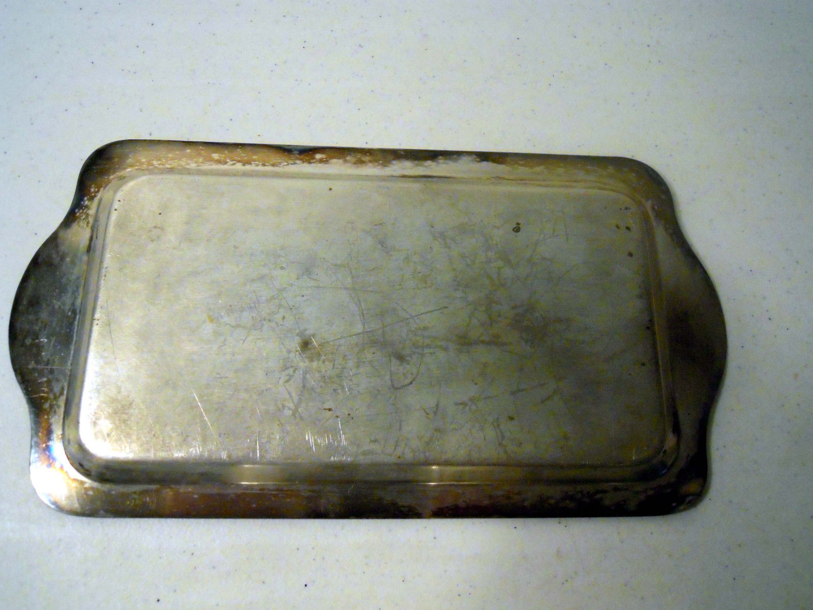 Vintage FB Rogers Silver-Over-Copper Tray and Containers