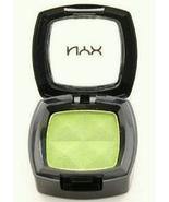 NYX Eye Shadow Single Bright Green, light lemon lime, pea, full size ES133A - $14.99