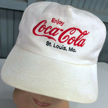 Coca Cola St. Louis VTG Embroidered Snapback Baseball Hat Cap Made In USA - $31.79