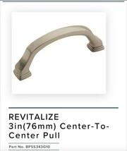 (Set of 2) Amerock Revitalize 3 in. (76mm) Center Pull - Polished Nickel - $6.99