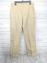 Propper Combat Tactical Pants Men's Sz 38x33 Tan Ripstop Button Fly (o1) - $20.99