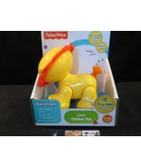 Fisher Price Lion Clicker pal toy yellow - $28.49