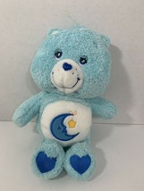 Care Bears Bedtime Bear plush 2004 TCFC blue stuffed moon star Play Along - $3.95
