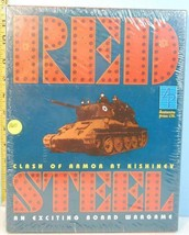 Red Steel Clash of Armor at Kishinev Avalanche Press 1996 SHRINK WRAP - $34.65