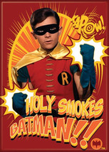 Batman 1960's TV Series Robin Holy Smokes Batman!! Photo Refrigerator Ma... - $3.99