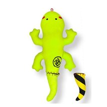 Lovely Geckos Bamboo Charcoal Doll - Air Purifying Bag,Fluorescent Green(30cm)