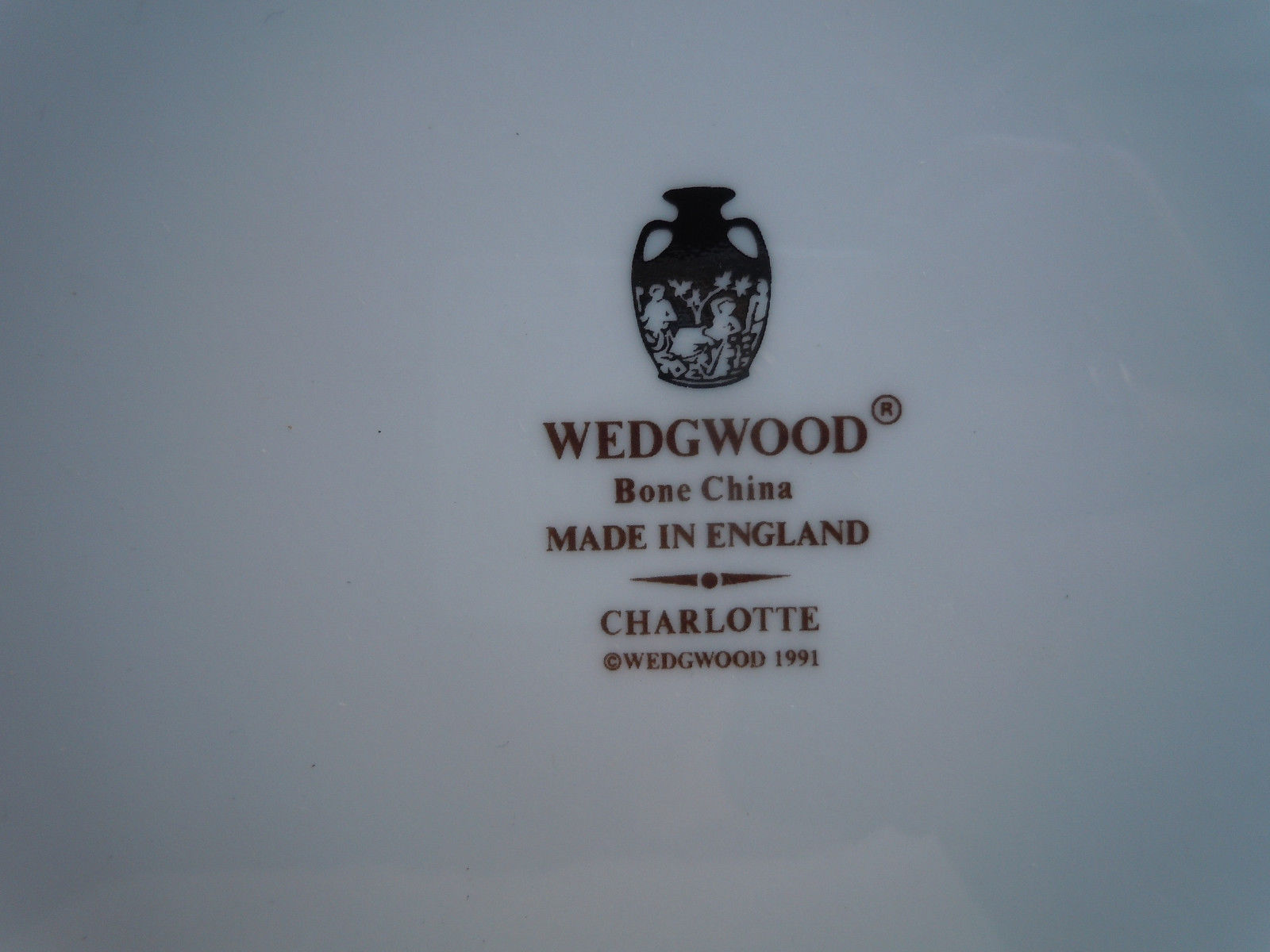 Wedgwood Charlotte Dinner Plate image 2