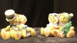 ENSCO Cherished Teddies Figurines with box ( pair)  AA19-2064 Vintage image 6