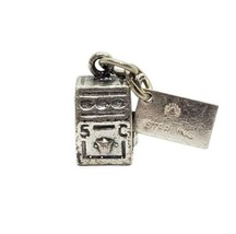 Bell Trading Post Southwestern 925 Sterling Silver 5C Slot Machine Charm - $12.86