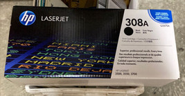 Genuine, Sealed HP 308A / Q2670A Black Toner Cartridge - HP 3500, 3550, 3700 - $9.89
