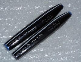 (2) Avon Aero VOLUME Mascara Blackest Black & Brown/Black  0.247 oz. each/Sealed - $9.90