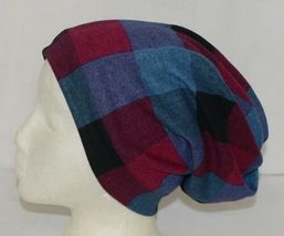 Howards Arianna Collection Buffalo Plaid Convertible Hat Adult Blues image 3