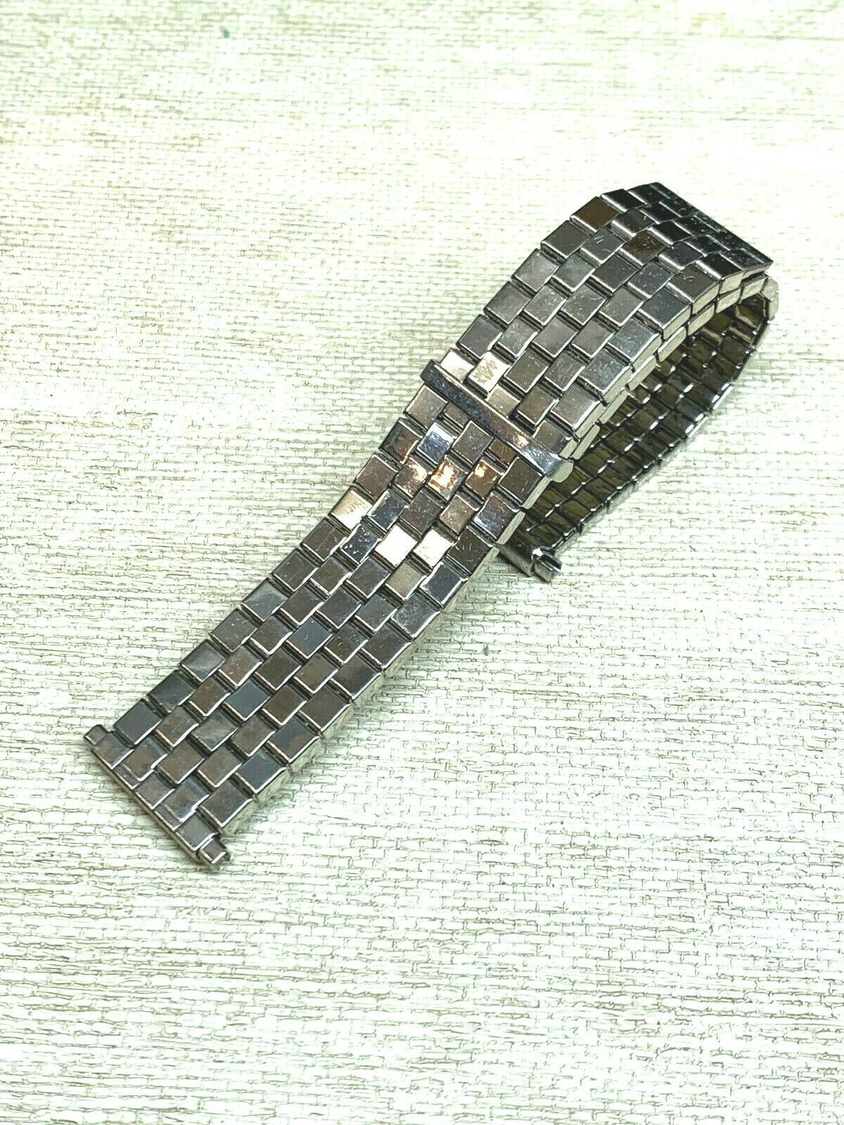 New Vintage expansion watch band stainless steel adjusting BOWLES Flex