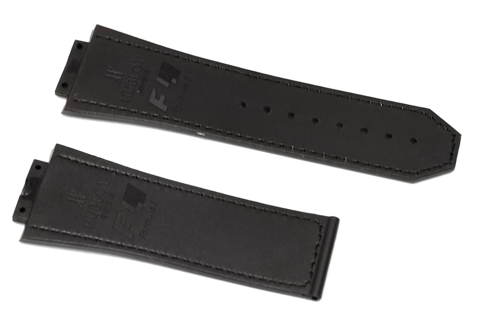 30mm Rubber Replacement Watch Band Strap For Fits Hublot King Power F1