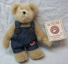 "Boyds Best Dressed JIMMY T. BEARHEART BEAR 6"" Plush STUFFED ANIMAL Toy NEW - $16.34"