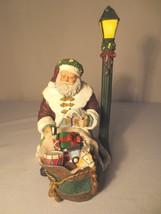 "Thomas Kinkade - ""St Nicholas Packs His Bag"" Figurine COA - $25.00"