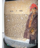 Catcher in the Rye Snowglobe 25 Uncollected Short Stories by J.D. Saling... - $32.50