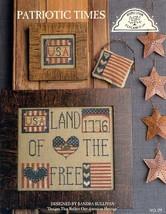 Patriotic Times Homespun Elegance Cross Stitch Pattern Leaflet NEW - $2.67