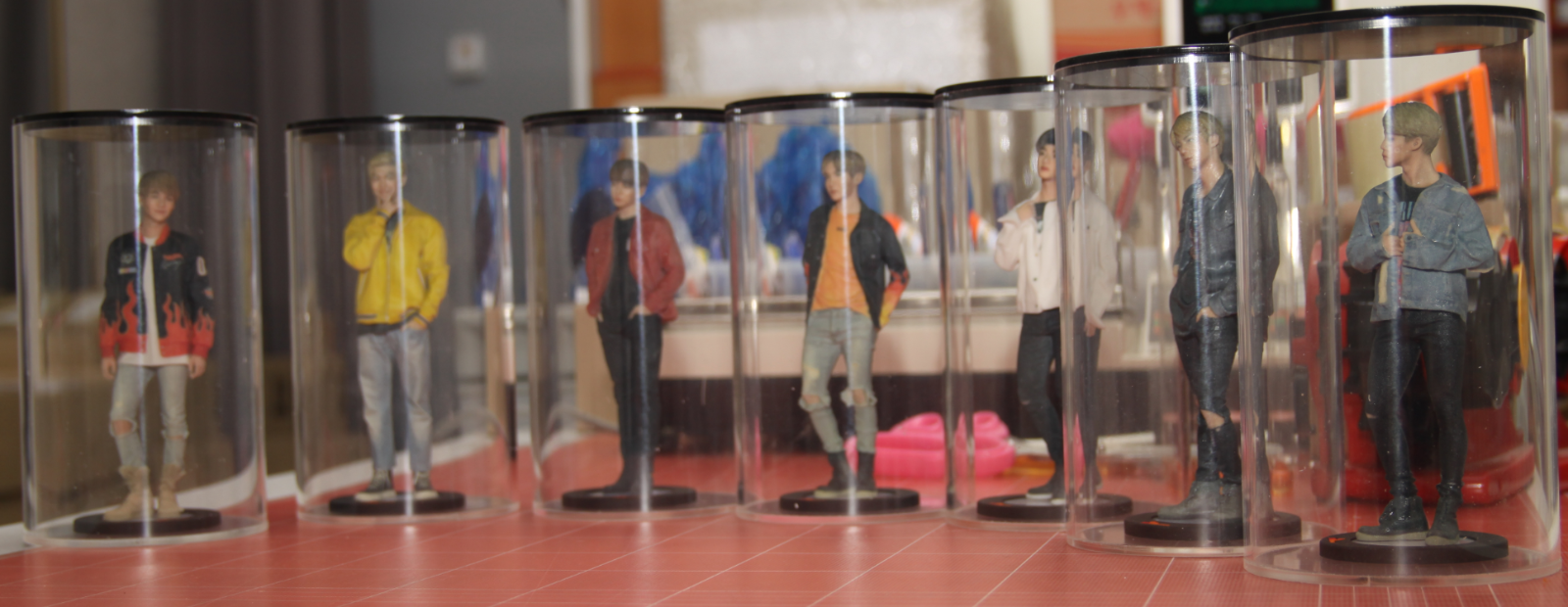 BTS Bangtan Boys Real Figure Limited Edition KPOP with Free Gifts