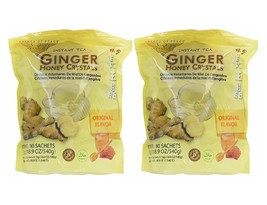 2 Packs Ginger Honey Tea, Prince of Peace Ginger Honey Crystals Instant Tea  - $22.99