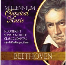 Beethoven CD Moonlight Sonata And Other Classic Sonatas  - $1.99
