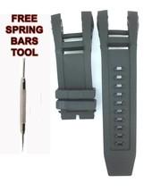 Compatible Invicta SUBAQUA NOMA 4 IV 6564 32mm Black Rubber Watch Strap ... - $28.84