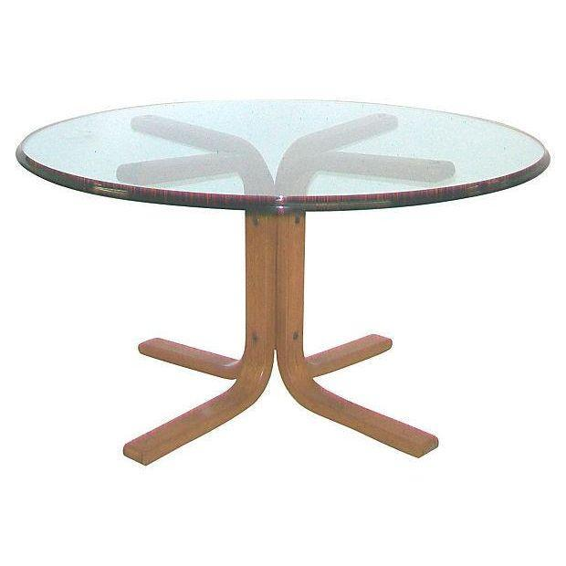 Danish Modern Teak Table Base, Kurt Hesterburg