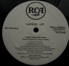 Ladeez 1st - There From the Start - RCA Records RDAA-62470-1 - $3.00