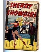 Sherry the Showgirl #6 1957- Atlas humor- Al Hartley- G - $151.32