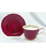 Paragon Gold Floral Tea Cup And Saucer Set - $50.39