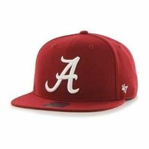 Alabama Crimson Tide NCAA Razor Red Sure Shot Captain Snapback Hat *NEW* - £21.28 GBP