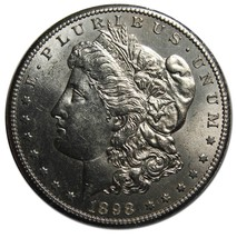 1898S MORGAN SILVER $1 DOLLAR Coin Lot# MZ 4167