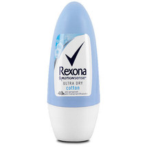 Rexona Cotton ULTRA DRY deodorant anti-perspirant Roll on -Made in Germany - $5.93