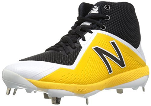 Primary image for Balance Men's M4040v4 Metal Baseball Shoe, Black/Yellow, 5.5 D US