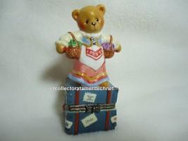 Cherished Teddies Covered Box Across The Seas Italy 1998 NIB - $23.71