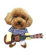 NACOCO Pet Guitar Costume Dog Costumes Cat Halloween Christmas Cosplay P... - £13.54 GBP