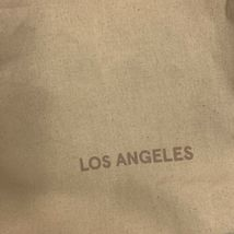 ONLY AVAILABLE IN MELROSE PLACE GLOSSIER LOS ANGELES Cream Tote W Pink Logo image 3
