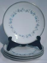 "Set of 4 Vintage Noritake CONCORD 6 3/8"" Bread Butter Plates 6207 Dessert Plates - $14.81"