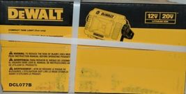 DeWalt DCL077B Compact Task Light TOOL ONLY 12V 20V Lithium Ion CORDLESS Pkg 1 image 3