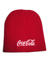 Coca-Cola Knit Red Bean with Embroidered White Logo- BRAND NEW - $11.14
