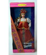 Mattel Russian BARBIE Girls Doll NIB Traditional Red Dress Hat - $18.99